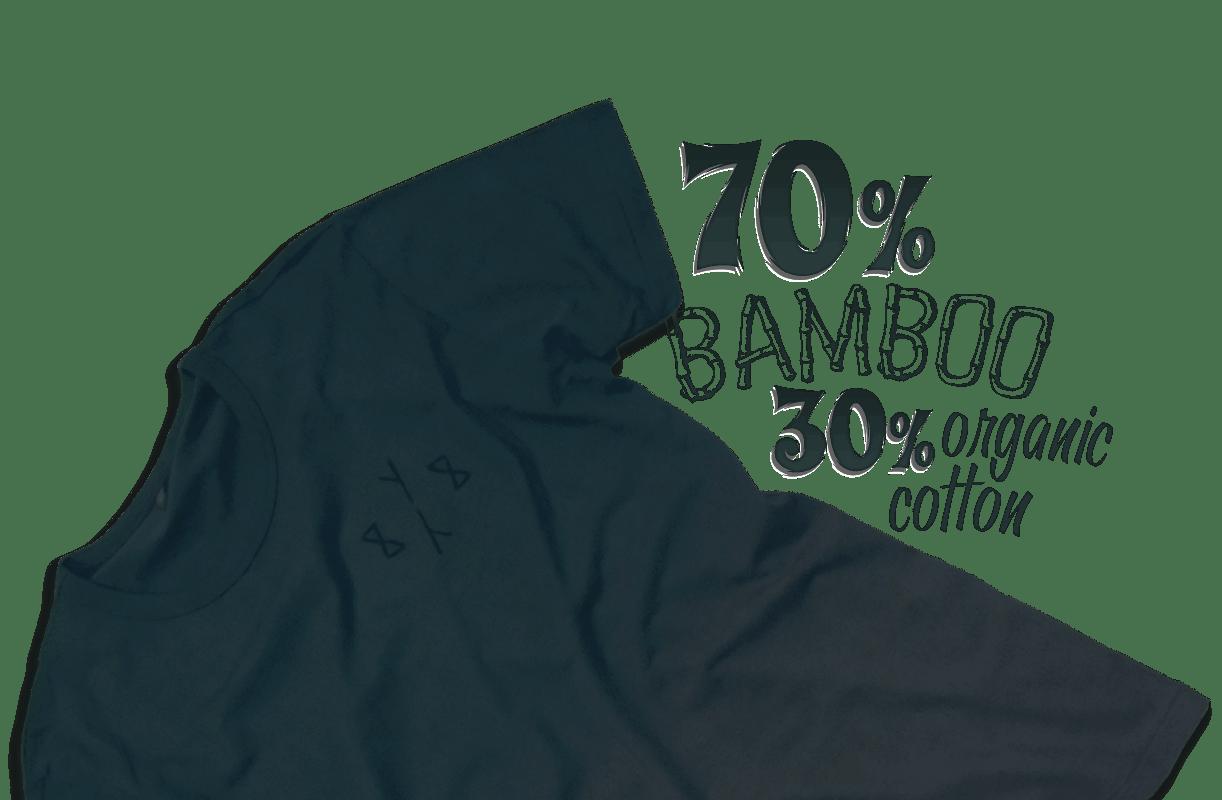 8Y8 dip-dye bamboo T-shirt