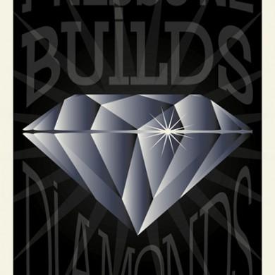 Pressure Builds Diamonds