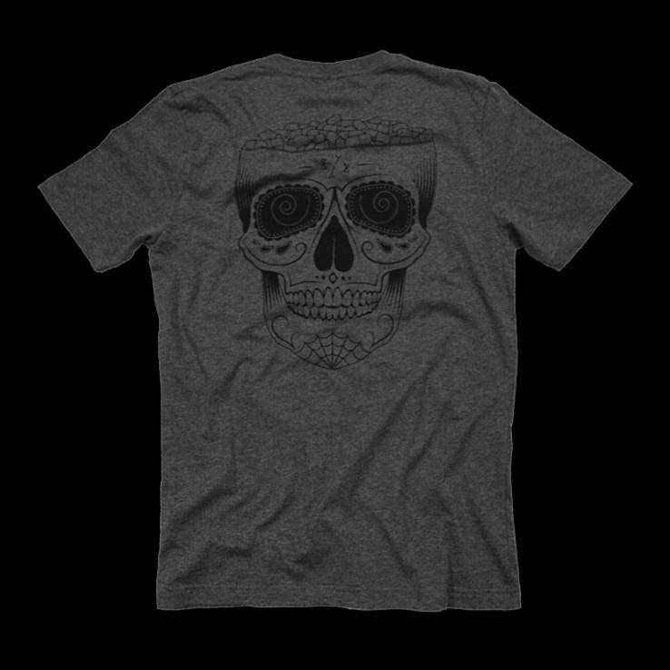 8Y8 Head Full of Pills Grey T-shirt eco-friendly