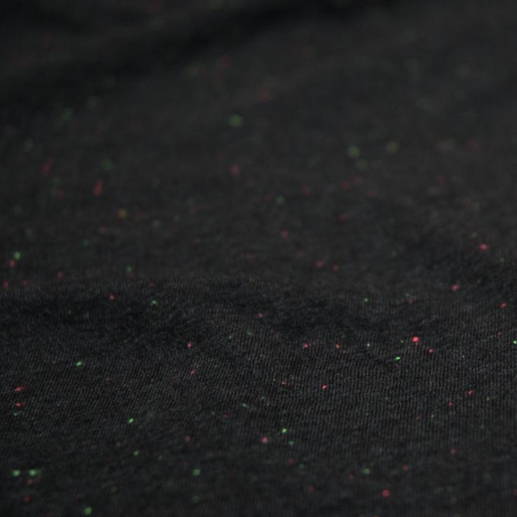 8y8 speckled t-shirt black fleck
