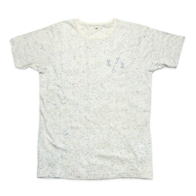 8y8 speckled t-shirt cream
