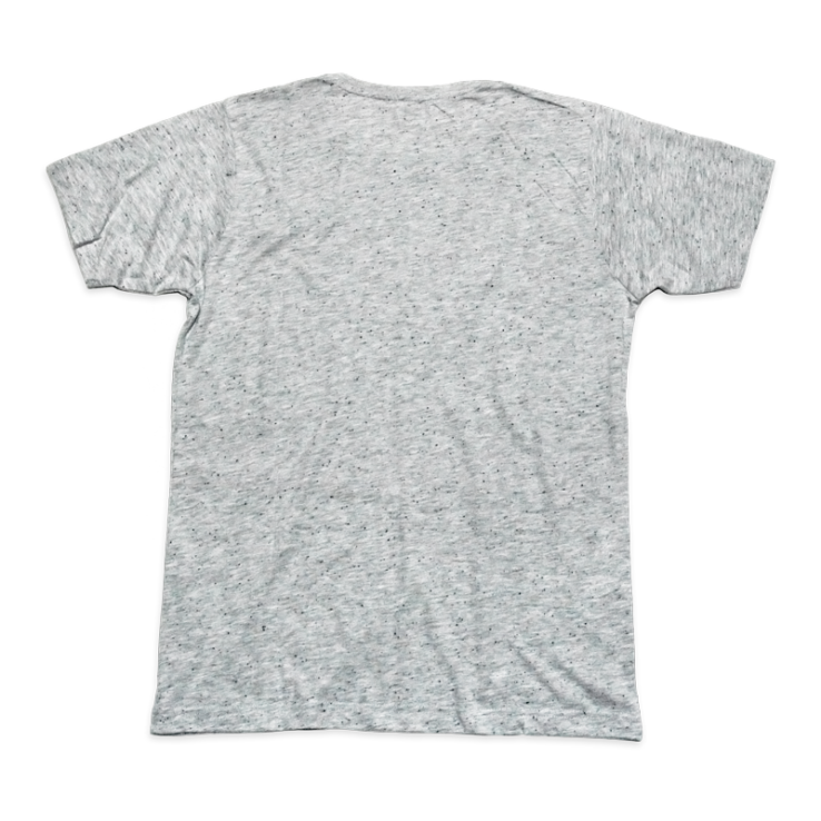 8y8 speckled t-shirt grey